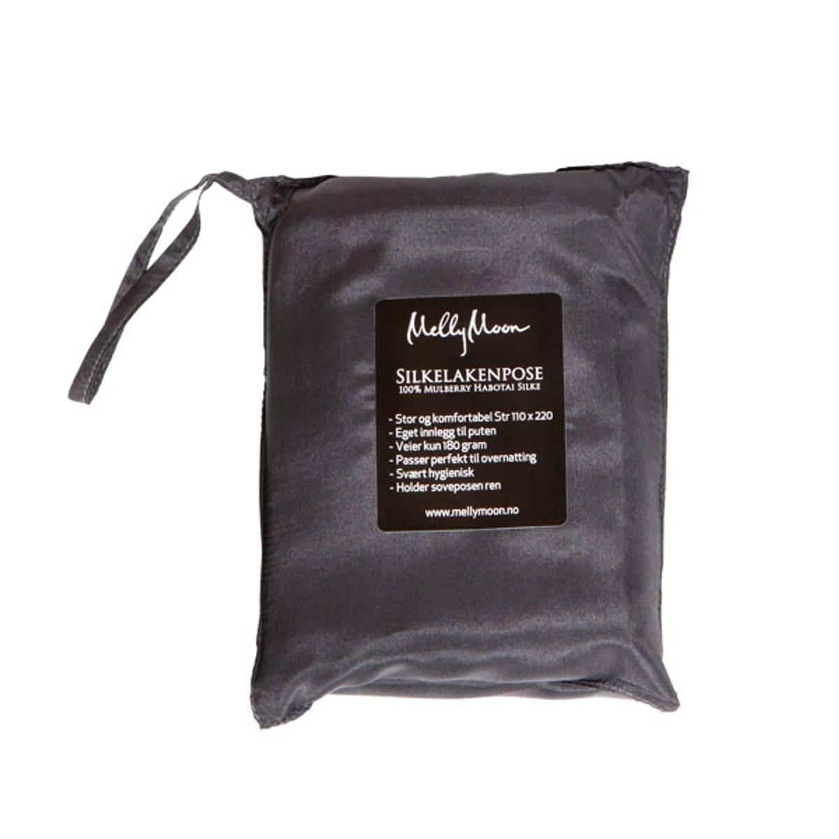 Silkelakenpose - koksgrå