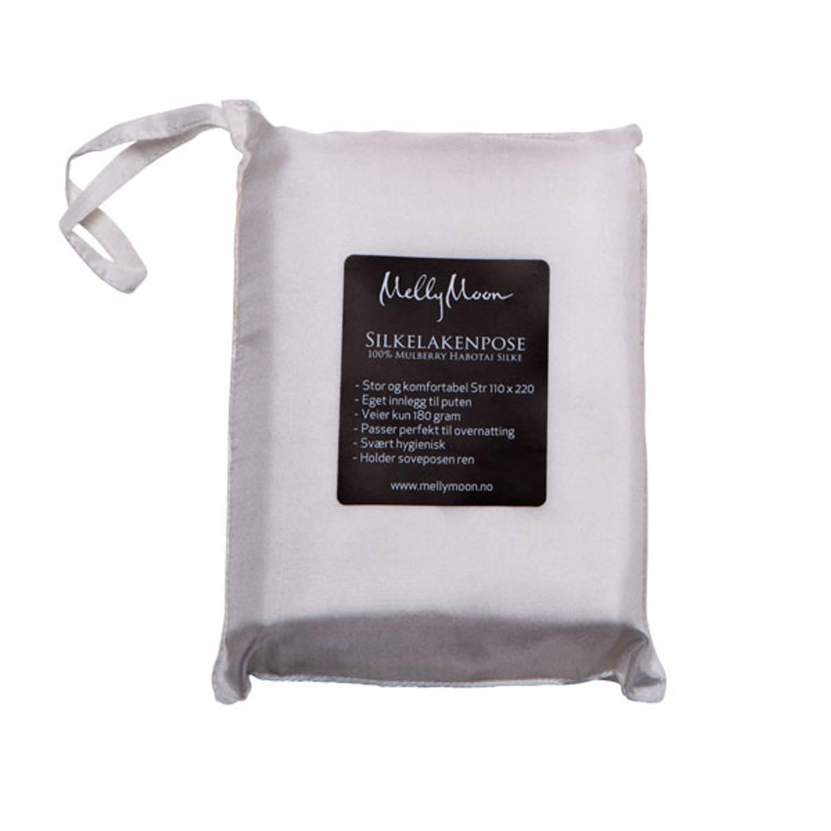 Silkelakenpose - hvit